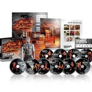 Insanity 60 day Total Body Program DVD set